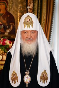 Der russisch-orthodoxe Patriarch Kyrill I. Foto: Von Patriarchate of Moscow - patriarchia.ru/en, CC-BY-SA 4.0